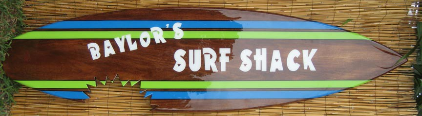 surfing art and signs